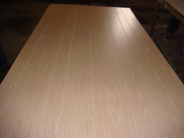 T&Grooved plywood